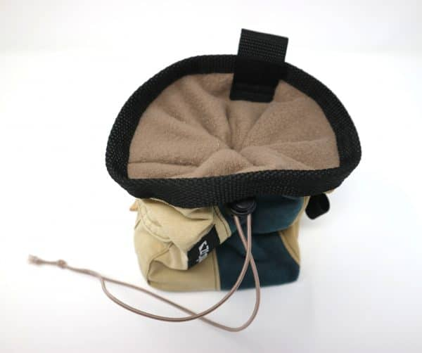 handmade climbing chalk bag