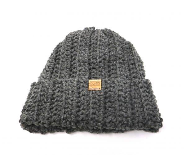 bonnet unisexe gris